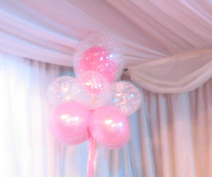 balloons, sweet, and pink.girly image