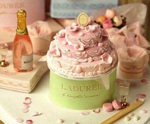laduree, cupcake, and food image