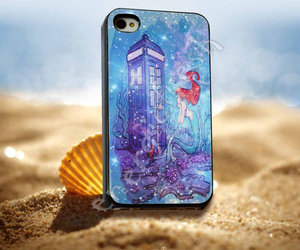 disney, ariel little mermaid, and doctor who image