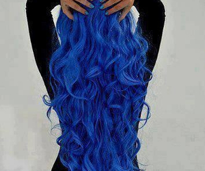 awesome, hair, and blue image