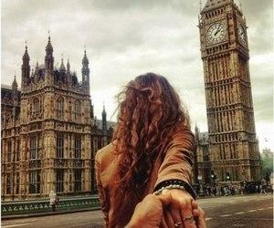 london, couple, and Big Ben image
