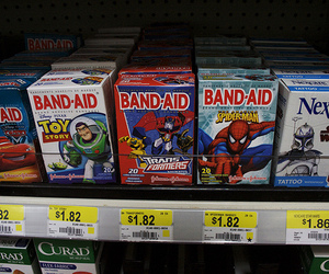 band-aid, star wars, and toy story image
