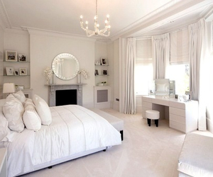 bedroom, decor, and luxury image