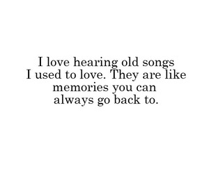 memories, old songs, and music image