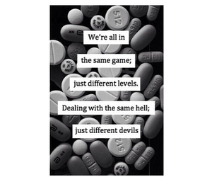 quote, Devil, and hell image