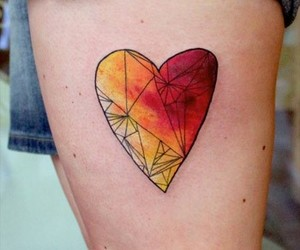 beautiful, colorful, and heart image