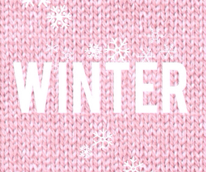 knitted, pastel, and snow flake image