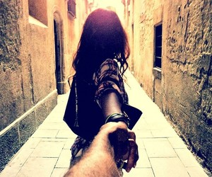 couple and follow me image
