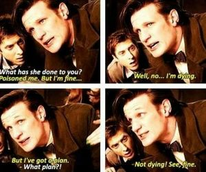 matt smith, 11th, and rory williams image
