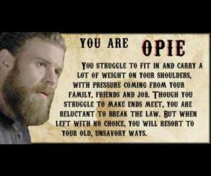 opie, quote, and sons of anarchy image