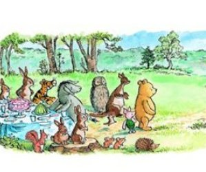 heartbreaking, hundred acre woods, and inspiring image