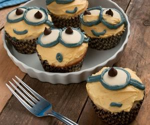 cupcake and minions image