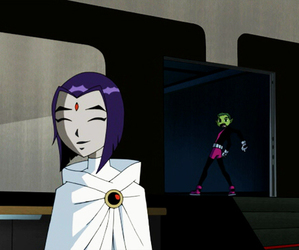 raven and teen titans image