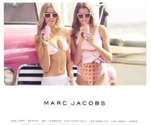 girl, pink, and marc jacobs image