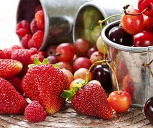 FRUiTS, nature, and strawberries image