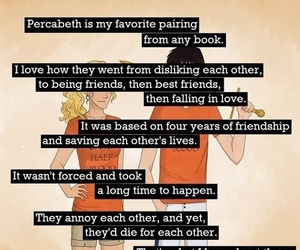 percy jackson, annabeth chase, and otp image