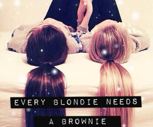 blondie, brownie, and friends image