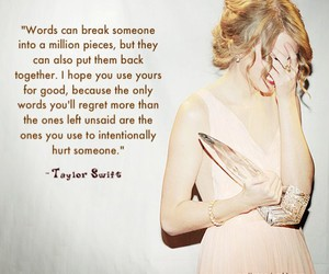 quote, Taylor Swift, and text image