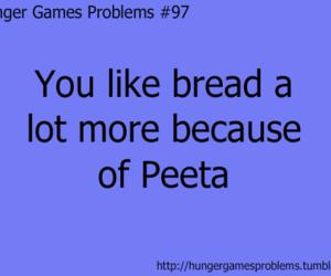 bread, Jennifer Lawrence, and hunger games image