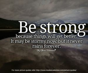 quotes, strong, and be strong image