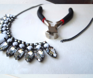 diy and jeweled clutch image