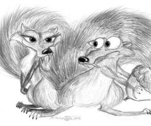 love scrat scretty image
