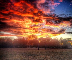rugby and sky image
