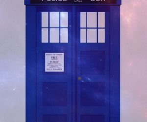 doctor who, tardis, and science fiction image