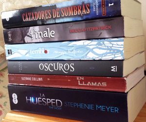 books, libros, and hush hush image