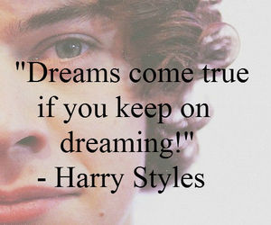 Harry Styles, Dream, and one direction image