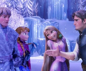 anna, frozen, and tangled image