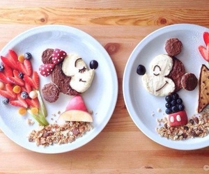 food, mickey, and disney image