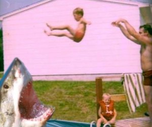 shark, vintage, and kids image
