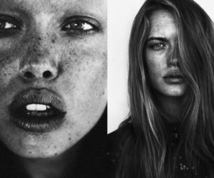 blonde, eyes, and blue eyes image
