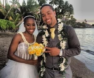 hawaii, naomi, and wedding image