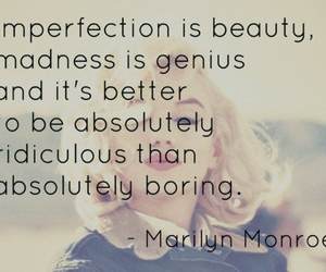 quote, Marilyn Monroe, and beauty image