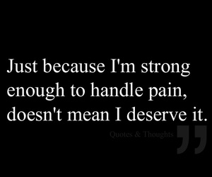 pain, quotes, and life image