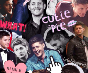 supernatural, dean winchester, and Collage image