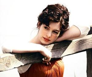 Anne Hathaway, becoming jane, and jane austen image