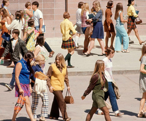 60s and school image