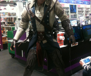 Connor, videogames, and assassin's creed iii image