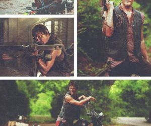 daryl dixon, the walking dead, and love image