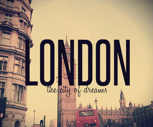 london, Dream, and city image