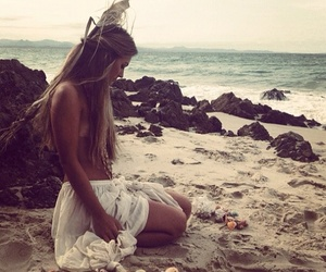 beach, gipsy, and summer image