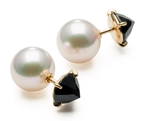 earring, jewerly, and pearl image