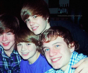 chaz, justin bieber, and christian beadles image