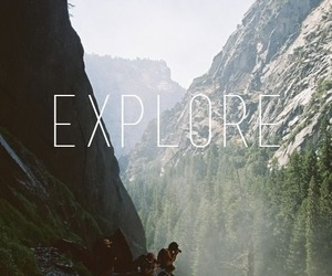 explore, travel, and nature image