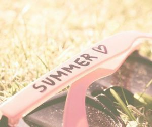 summer, sunglasses, and sun image