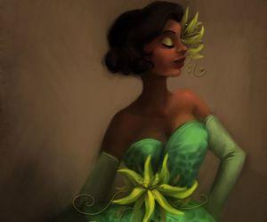 tiana, princess, and disney image