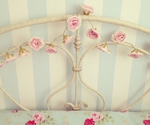 roses, pink, and vintage image